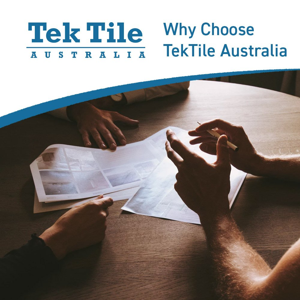 Why Choose TekTile Australia