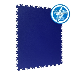 TekTile Antistatic Flooring, Navy Blue Finish with Dovetail Interlock - 5mm