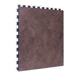 SAMPLE Luxury Vinyl Tile in Premium Clay Finish with Dark Grey Grout