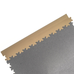 Beige Dovetail Edging For TekTile System - 4 pack