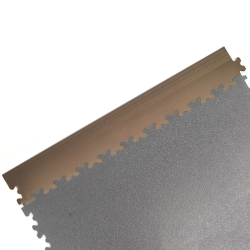Tan Dovetail Edging For TekTile System - 4 pack