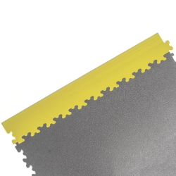 Yellow Dovetail Edging For TekTile System - 4 pack