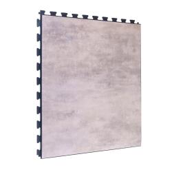 SAMPLE Luxury Vinyl Tile in Premium Granite Finish with Dark Grey Grout