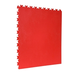 TekTile Leather Red Finish with Excel Hidden Interlock