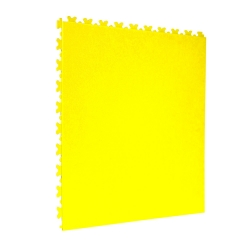 TekTile Leather Yellow Finish with Excel Hidden Interlock