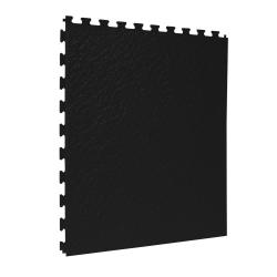 TekTile Textured Black Finish with Slate Hidden Interlock - 5mm