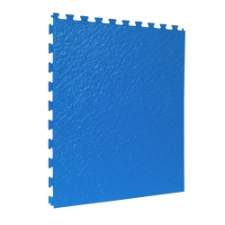 TekTile Textured Blue Finish with Slate Hidden Interlock - 5mm