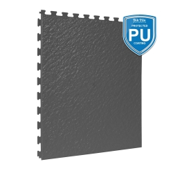 TekTile Textured Dark Grey with Excel Hidden Interlock - PU Coated - 5mm