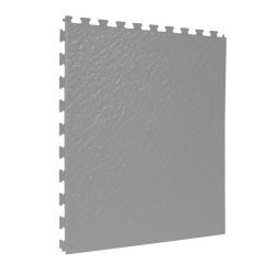TekTile Textured Light Grey Finish with Slate Hidden Interlock - 5mm
