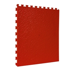 TekTile Textured Red Finish with Slate Hidden Interlock - 5mm