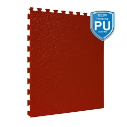 TekTile Textured Terracotta with Excel Hidden Interlock - PU Coated - 5mm