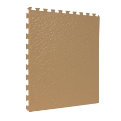 TekTile Textured Tan Finish with Slate Hidden Interlock - 5mm