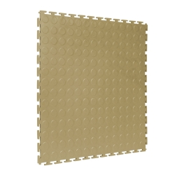 TekTile Studded Beige Finish with T-Join Interlock - 5mm