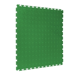 TekTile Studded Green Finish with T-Join Interlock - 5mm