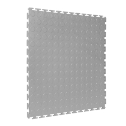 TekTile Studded Light Grey Finish with T-Join Interlock - 5mm