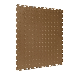 TekTile Studded Tan Finish with T-Join Interlock - 5mm