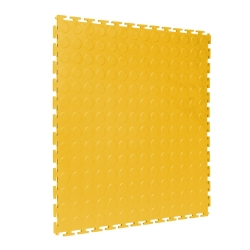 TekTile Studded Yellow Finish with T-Join Interlock - 5mm