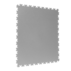 TekTile Textured Light Grey Finish with Dovetail Interlock (TEXT.LG7 - 7 MM THICK)