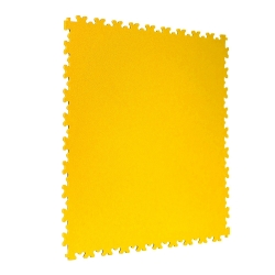 TekTile Textured Yellow Finish with Dovetail Interlock (TEXT.YE4 - 4 MM THICK)