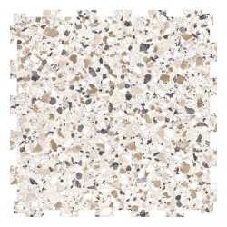 TekTile Urban Range: Cream Terrazzo Seamless Finish